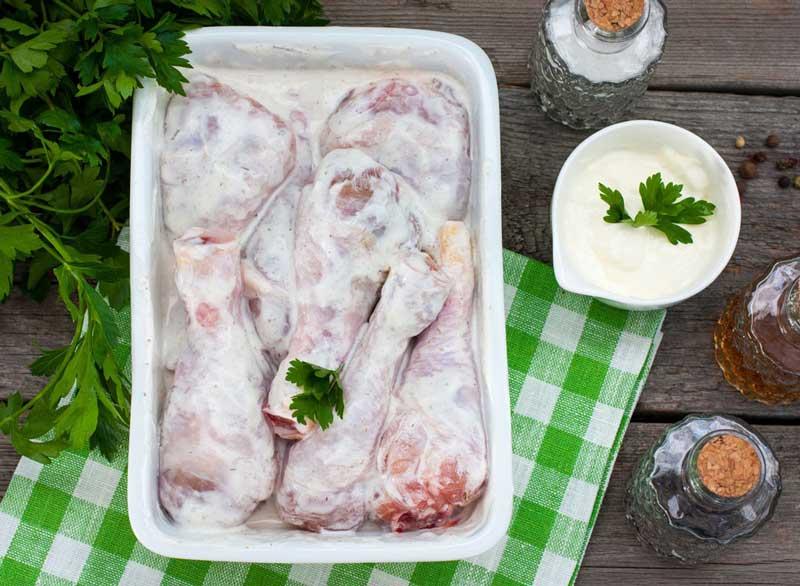 ماست برای لاغری,greek-yogurt-marinade