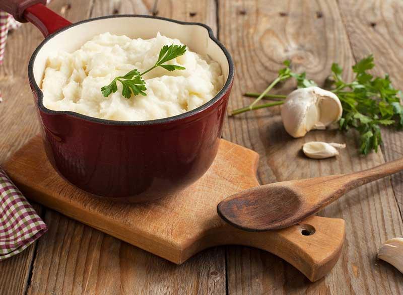 ماست برای لاغری,mashed-potatoes