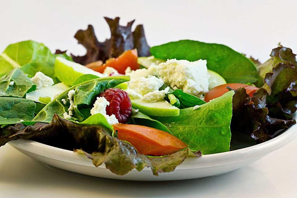 مصرف سبزیجات برای کاهش وزن