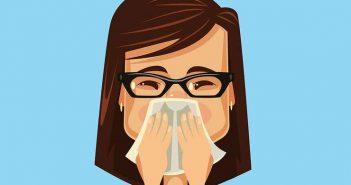 عفونت سینوسی تورم صورت