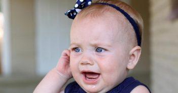 عفونت گوش نوزاد