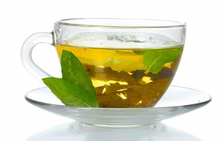 درمان خشکی پوست,چای سبز