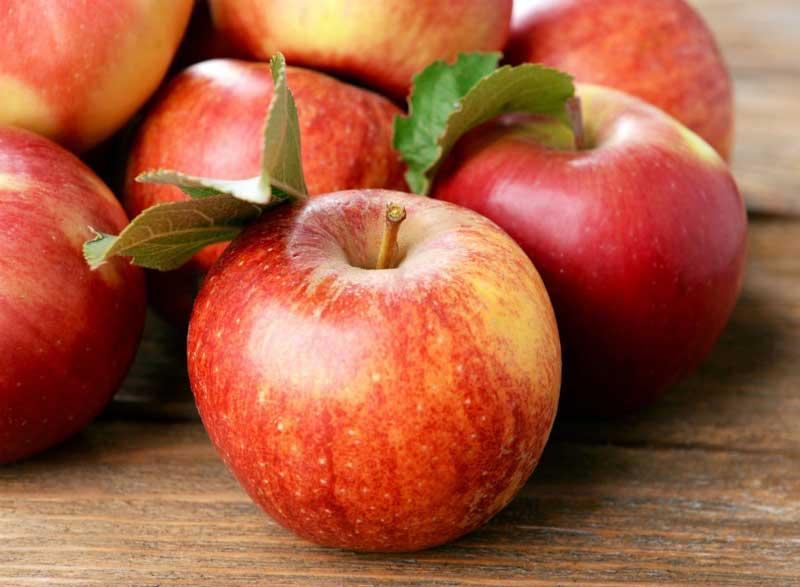 رژیم کربوهیدرات برای لاغری,ripe-red-apples سیب