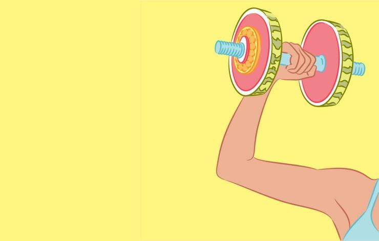 علت رشد نکردن عضله بازو,وزنههای سنگین
