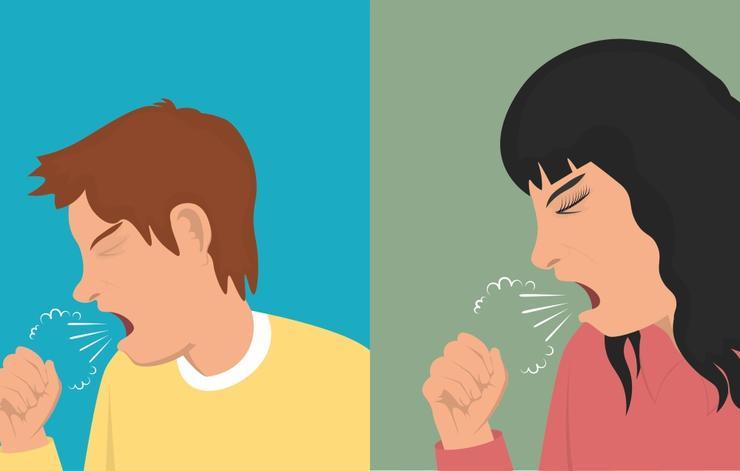 علائم سرطان ریه چیست,سرفههای طولانی