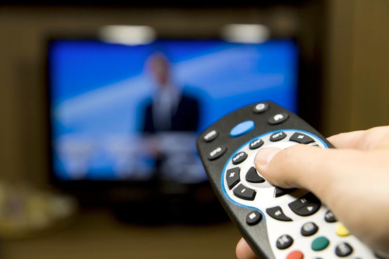 تغییر سبک زندگی برای لاغری,tv-remote