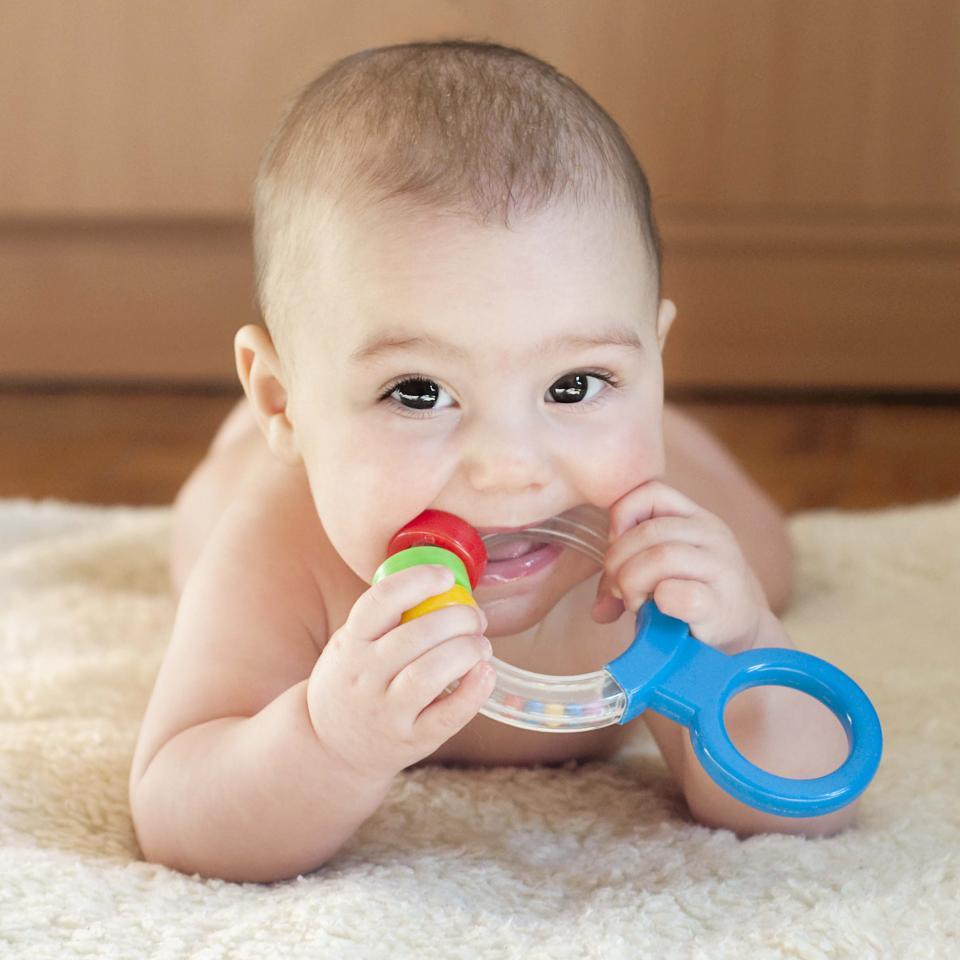 دندان دراوردن نوزاد