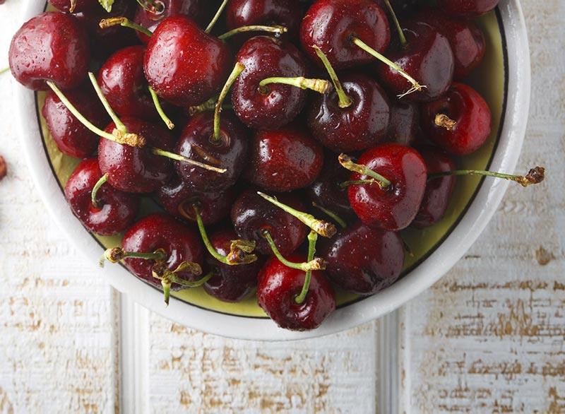 برنامه شکم شش تکه,bing-cherries گیلاس