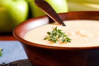 طرز تهیه سوپ رازیانه، آویشن و سیب