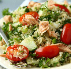 خواص رازیانه,healthy-quinoa-salad-232x224