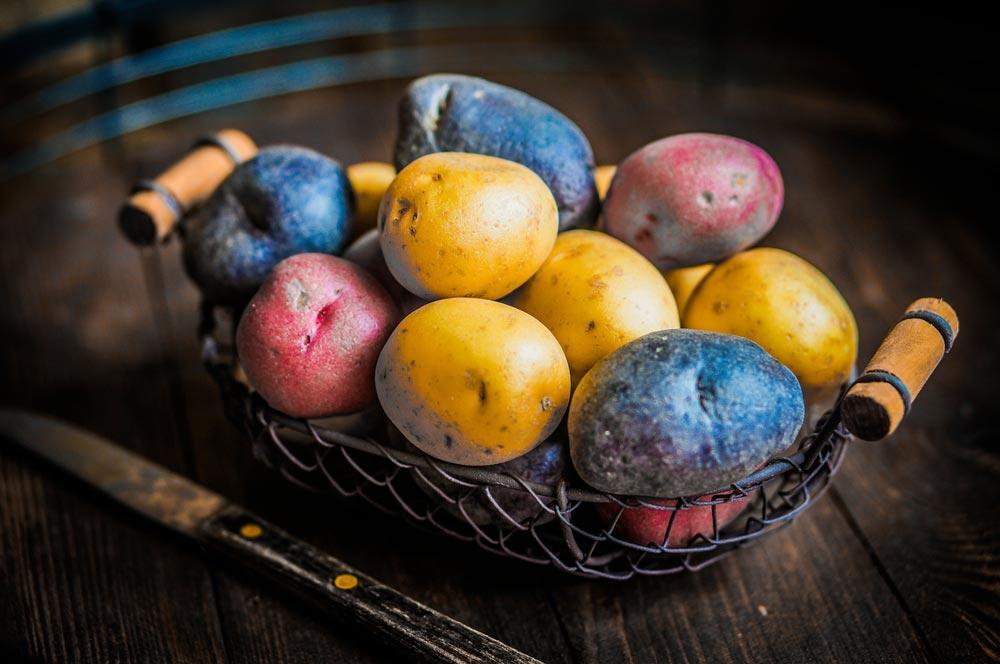 خواص سیب زمینی برای سلامت بدن - فواید درمانی و ارزش غذایی سیب زمینی