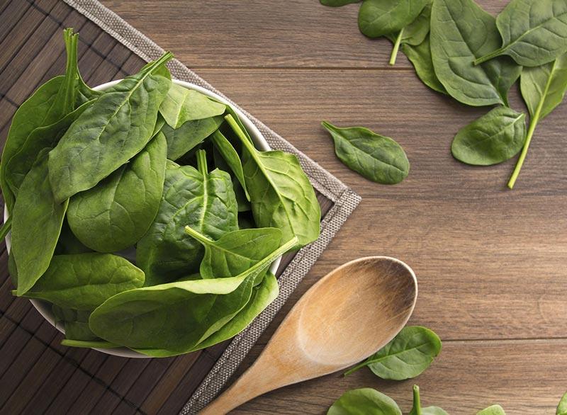 برنامه شکم شش تکه,spinach-meat-free-proteins اسفناج