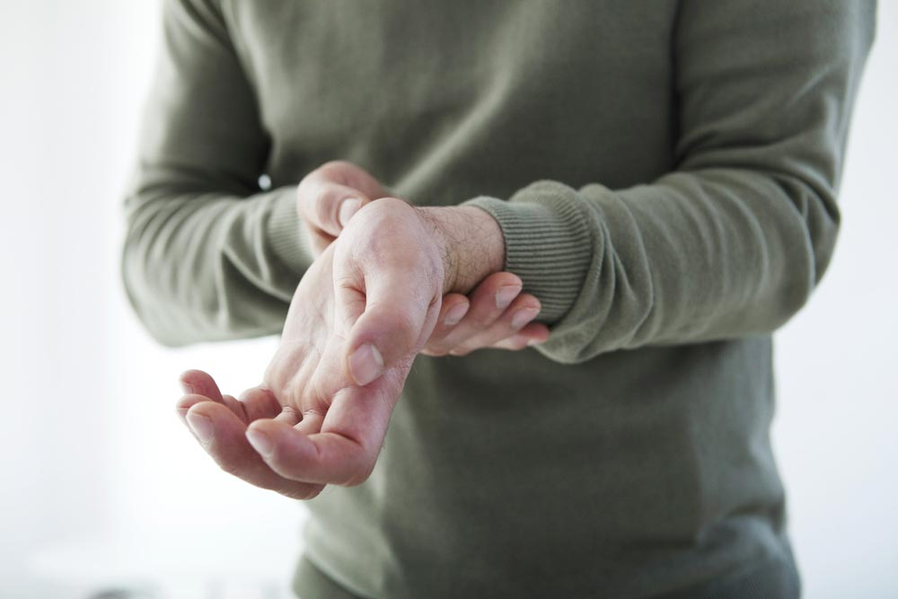 wrist-pain سندرم تونل کارپال