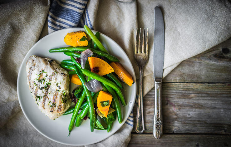 چگونه بدن و ذهنی قوی داشته باشیم,healthy-dinner-سلامت مغز