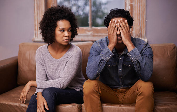 دلایل شکست ازدواج,مبارزه نکردن