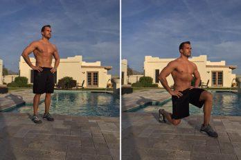 تمرینات قدرتی با وزن بدن + تصاویر