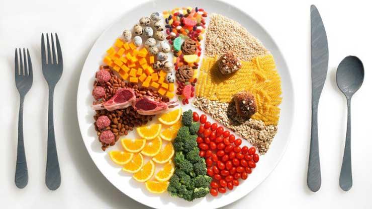 نمونه جدول رژیم غذایی دش