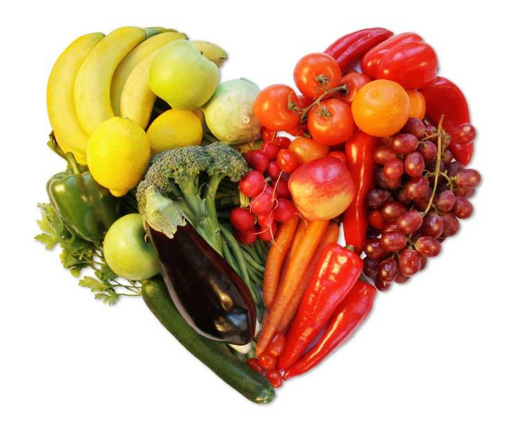 رژیم غذایی سالم دش DASH-diet-heart
