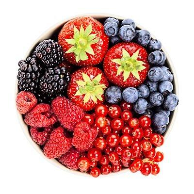 غذاهای مفید برای چشم,مرکبات و انواع توت ها مفید برای چشمها