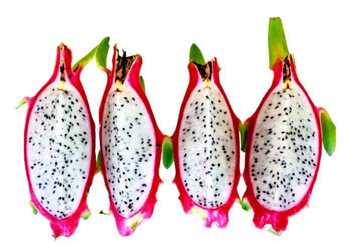 منابع غذایی ویتامین بی 3 dragon-fruit