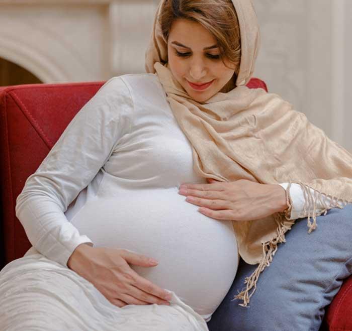 خواب راحت در بارداری pregnancy