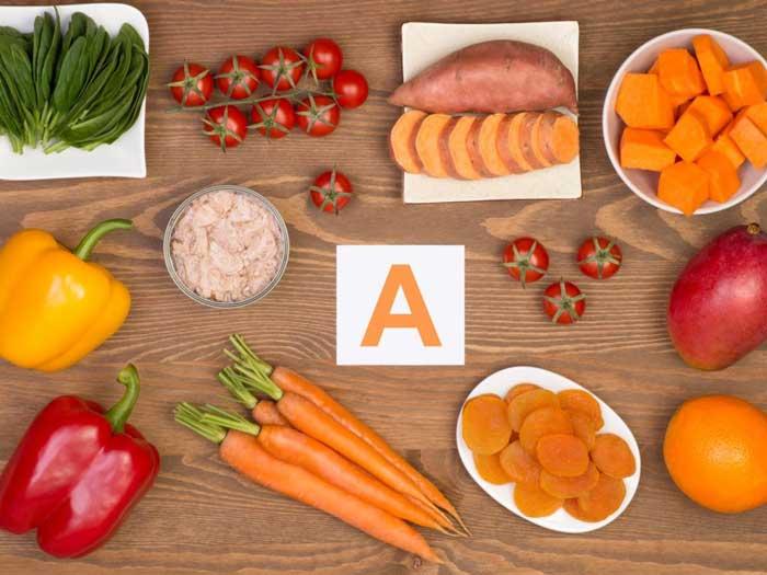 غذاهای منبع ویتامین A