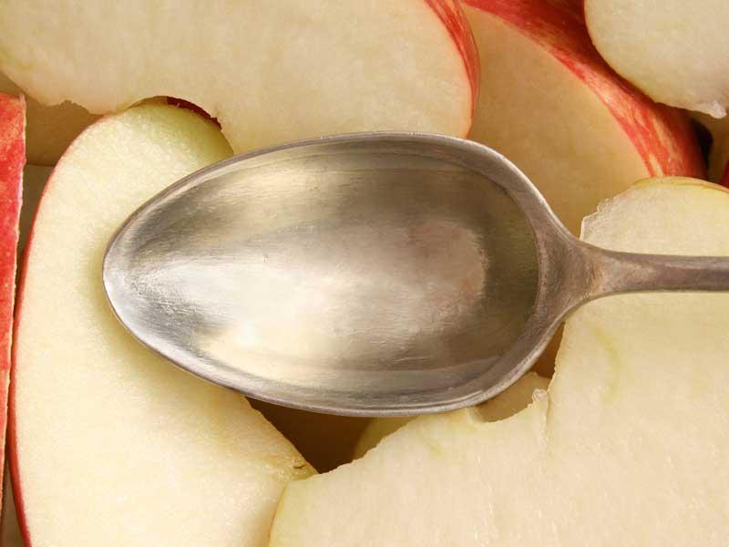 درمان شوره با سرکه سیب