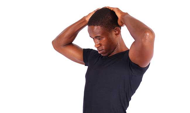 حرکات کششی یوگا برای گردن درد