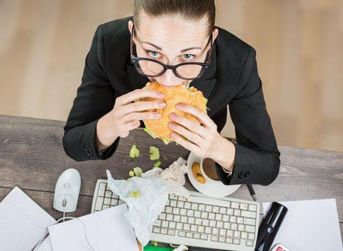 دلیل افزایش وزن سریع,علت چاق شدن ناگهانی,استرس