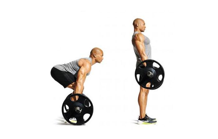 deadlift ورزش های تقویت عضله کمر و تمرینات کششی کمردرد سلامت