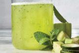 نوشیدنی نعناع و خیار برای رفع نفخ شکم