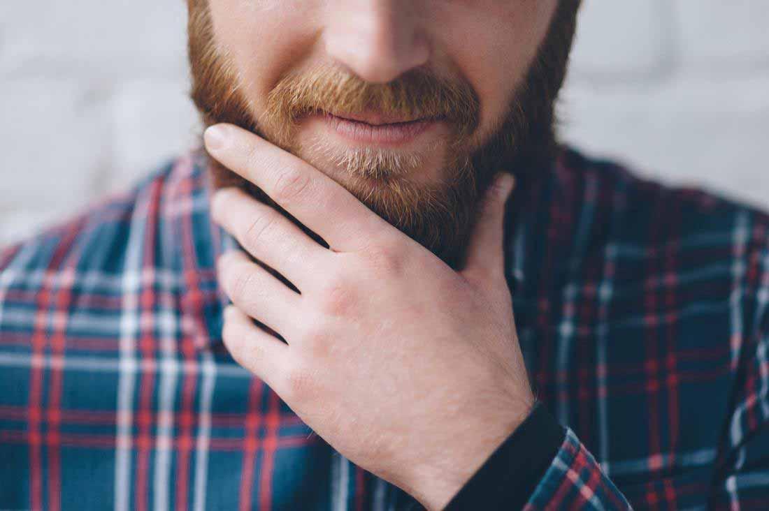 علت و راه درمان خارش ریش صورت