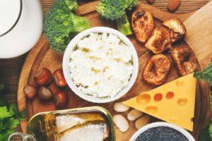 ۱۰ غذای سرشار از کلسیم