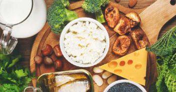 منابع غذایی غنی از کلسیم