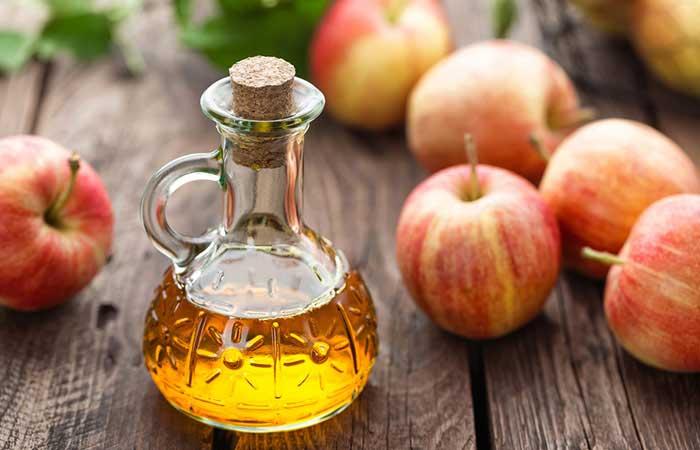 مزایای سرکه سیب برای کاهش ترکهای پوست دوران بارداری