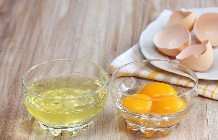سفیده تخم مرغ برای رفع ترک های پوستی بارداری