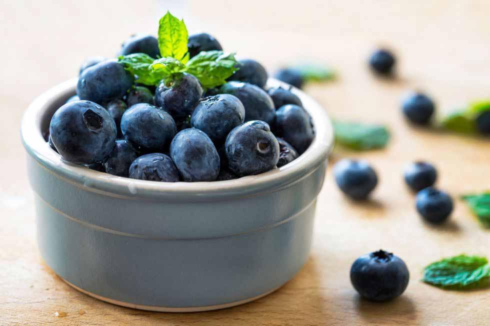 فواید بلوبری برای کاهش التهاب مزمن