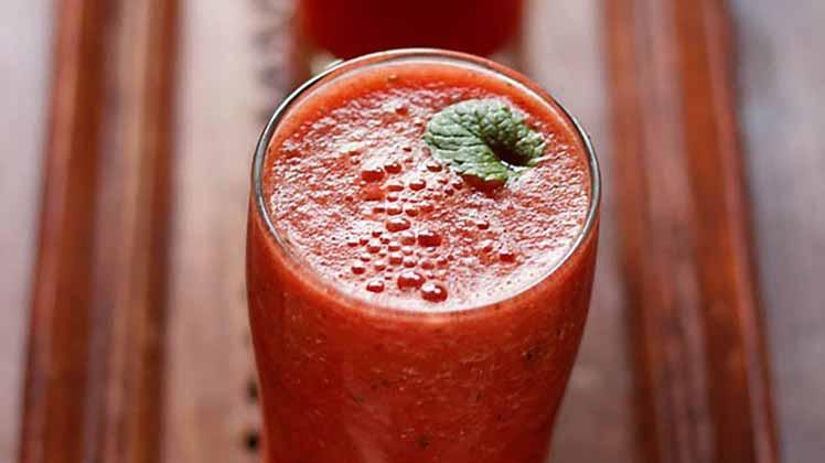 اسموتی هندوانه برای تقویت سیستم ایمنی بدن