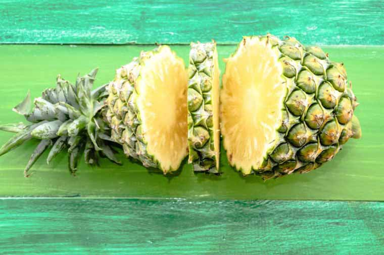 خواص هسته آناناس