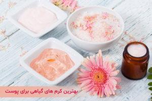 بهترین کرم های گیاهی برای پوست