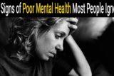 سلامت روحی ضعیف