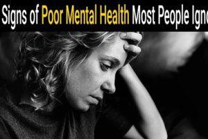 نشانه های بیماری روحی روانی