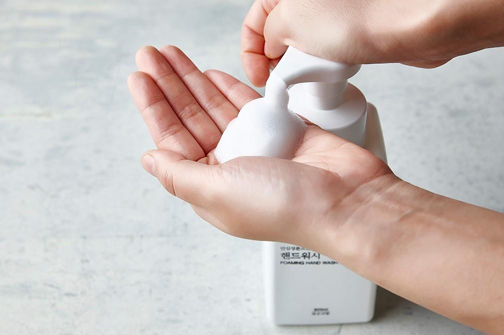 فوم دستشوئی آرومکس، محافظ پوست دستان شما