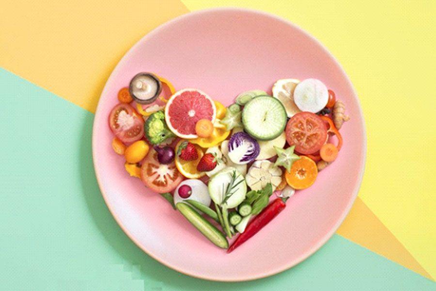 یک وعده غذایی رژیم غذایی مناسب و سالم