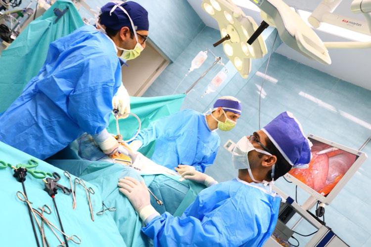 جراحی اسلیو به روش لاپاروسکوپی