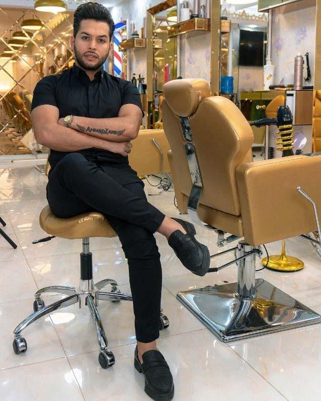 احمد زارع (َahmad zare) توصیه هایی برای شروع آرایشگری